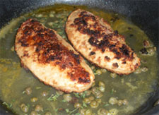 Mock Chicken Piccata